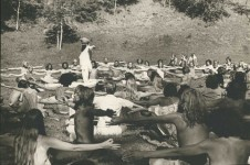Summer Solstice Sadhana in Aspen Meadows near Santa Fe, New Mexico 1969 © Lisa Law