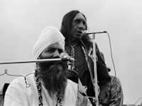 Yogi Bhajan with Hopi elders 1970