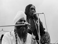 Yogi Bhajan with Hopi elders 1970