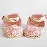 sandaletti rosa e fiori uncinetto-CROP