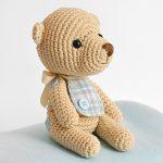 Amigurumi teddy baby bear